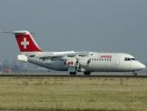 Swiss Air, BAE 146-RJ100
