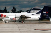 Fokker F.27-600 N740FE Federal express