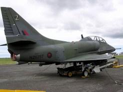 TA-4K Skyhawk Twin-seater, New Zealand Air Force, (Photo: Marc Steenbakkers)