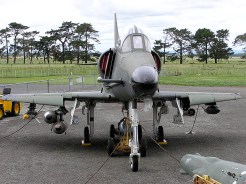 New Zealand Air Force TA-4K Skyhawk NZ6257 Two Seater