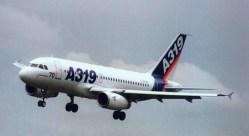 Airbus A319 prototype F-WWDB
