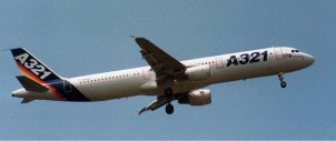 Airbus A321 prototype F-WWIB