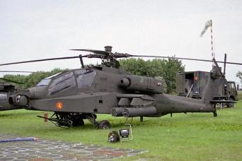 AH-64D Apache of 301 squadron, KLu