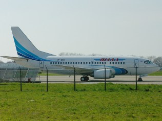 VP-BRS Boeing 737-528, Yamal Airlines, ex F-GJNF Air France