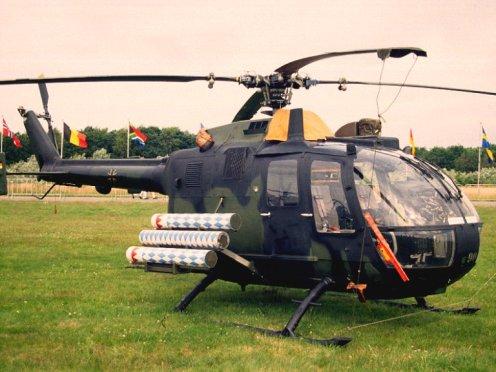 B?lkow Bo-105PAH 86+90 Heeresflieger