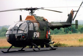 Implementation Force (IFOR) Bo-105CB-4 B-40 Koninklijke Luchtmacht