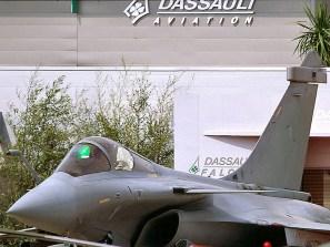 French AF Dassault Rafale at Le Bourget / Paris Air Show
