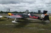Zivko Edge 540 N540HA is the aircraft of Kirby Chambliss, in the Red Bull Air Race Rotterdam 2005.