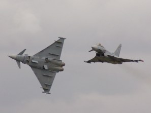 Two German Eurofighter Typhoons