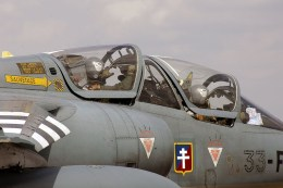 French Air Force F1 close up