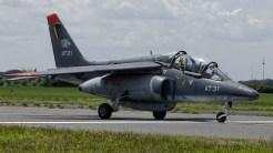 IMGP1087 Dassault-Dornier Alpha Jet 1B Belgian AF AT-31
