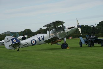 G-AENP/K5414 Hawker Hind of the Shuttleworth Collection at Old Warden