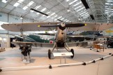 K4672 Hawker Hind of the Afghan Air Force at the RAF Museum at RAF Cosford, UK