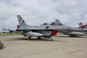 F-16B 692 tiger Norwagian Air Force