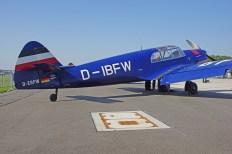 Messerschmitt Bf108 D-EBFW/D-IBFW at ILA 2012