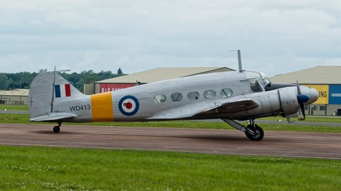 IMGP7190 Avro 652A Anson T21 G-VROE