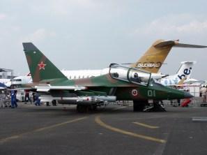 Yakovlev Yak-130 at the Paris Air Show 2003