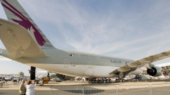 panorama Airbus A380-861 A7-APE Qatar Airways