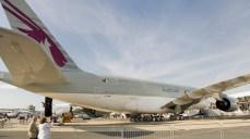panorama Airbus A380-861 A7-APE Qatar Airways