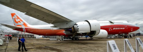 Boeing 747-8JK Boeing company N6067E