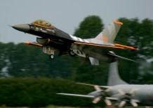 F-16AMD Royal Netherlands Air Force J-055 Leeuwarden