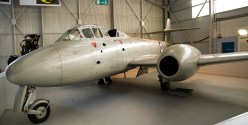 Gloster Meteor T7 WA634 Used for ejection seat trials