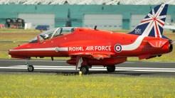 British Aerospace Hawk T1A XX319 RAF Red Arrows