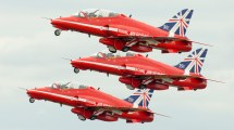 British Aerospace Hawk T1A Red Arrows RAF