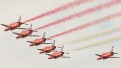Red Arrows demo
