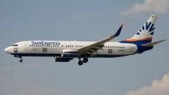 Boeing 737-8CX D-ASXG SunExpress