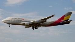 Boeing 747-48EM HL7423 Asiana Airlines