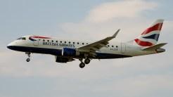 Embraer ERJ-170-100ST 170ST G-LCYE Britsh Airways
