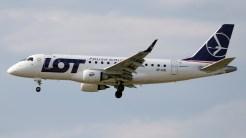 Embraer ERJ-170-100LR 170LR SP-LDE LOT Polish Airlines