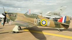 Hawker Hurricane Mk1 RAF G-HUPW R4118-UP-W