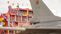 F-16 on the carnival