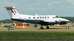 Hawker Beechcraft B200GT King Air ZK458 RAF