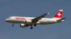 Airbus A320-214 Swissair HB-IJH