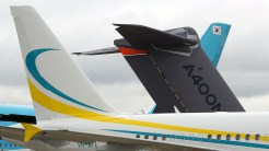 Airbus tails A400M A320 A380