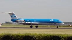 IMGP4524 Fokker 100 KLM PH-OFL