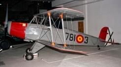 CASA 1-131E Jungmann Spanish AF E3B-521