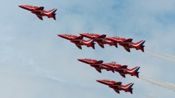 British Aerospace Hawk T1A RAF Red Arrows