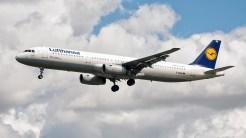 Airbus A321-131 D-AIRH Lufthansa