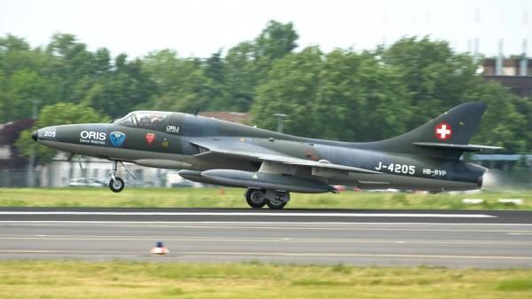 Imgp9761-ila Hawker Hunter T68 Swiss Air Force Colors