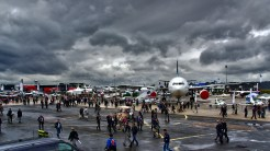 Le Bourget overzicht HDR woensdag