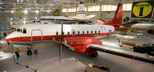 Panorama Hawker Siddeley HS-780 Andover E3A RAF XS639