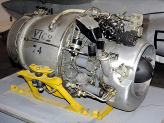 ad08-04 Fouga Magister engine