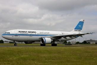 Airbus A300-B4-605R 9K-AMA Kuwait Airways