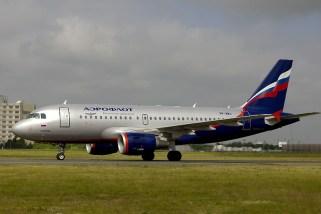 Airbus A319-111 VP-BWJ Aeroflot