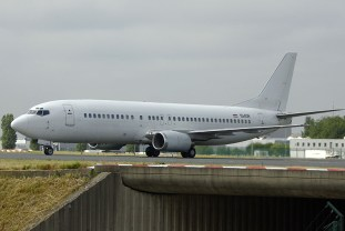 Boeing 737-4B7 YU-AOR JAT Airways