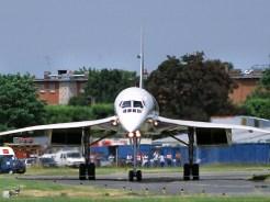 Air France Concorde last landing
